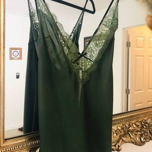Victoria's Secret, long silky chemise